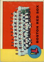 1963 Topps #202 Boston Red Sox TC - VG-EX
