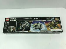 LEGO STAR WARS 66543 SUPER PACK SERIES 3 MICROFIGHTERS NEW 75126, 75128, 75129