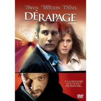 DVD DERAPAGE CLIVE OWEN / JENNIFER ANISTON / VINCENT CASSEL OCCASION