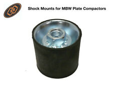 Original Mbw Oem Plate Compactor Shock Mounts 01012 2� Outer Dia & 1 3/4� Long
