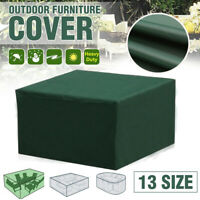 Waterproof Garden Patio Furniture Cover Set Covers Rattan Table Cub