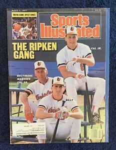 3.9.1997 CAL RIPKEN JR. FC Sports Illustrated First Cover BALTIMORE ORIOLES
