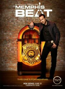 Memphis Beat TV Series POSTER ORIGINAL 27x40 TNT Drama 2010 Jason LEE DJ QUALLS