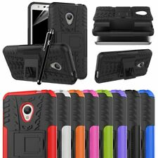 Alcatel U5 4G mobile Case Heavy duty Strong Armor Shockproof Hard Stand Cover