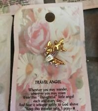 TRAVEL  ANGEL Pin Thoughtful Little Angel ~ FREE SHIPPING!