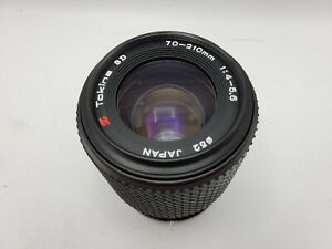Tokina SD 70-210mm F4-5.6 Zoom Lens for Pentax K Mount SLR/Mirrorless Cameras