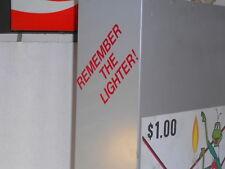 Old Cricket Disposable Lighter vending Machine