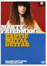 HOT LICKS MARTY FRIEDMAN EXOTIC METAL ELECTRIC GUITAR DVD PRICE SLASHED!