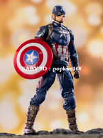 "New Captain America Marvel Avengers Legends Comic Heroes Action Figure 7"" Toys"