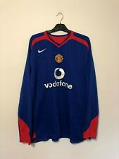 Manchester United 2005/07 XXL Football shirt away 05/07 2XL Long Sleeve L/S