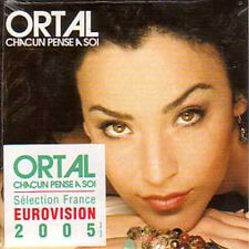 ★☆★ CD SINGLE EUROVISION 2005 France : Ortal	Chacun pense a soi 1-track ST  ★☆★