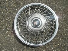 one 1991 to 1996 Buick Century locking wire spoke hubcap wheel cover