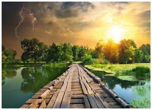 Ravensburger - The Wooden Footbridge Puzzle 1000pc