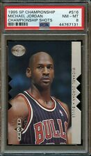 1995 Upper Deck SP Die Cut Michael Jordan Championship Shots #S16 PSA 8 NM- MINT