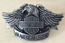 Harley Davidson An American Legend Biker Belt Buckle-Solid Built-Motorcycle-Bike