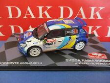 Die cast 1/43 Modellino Auto Skoda Fabia S2000 Rally Monte Carlo 2011 A.Caffi