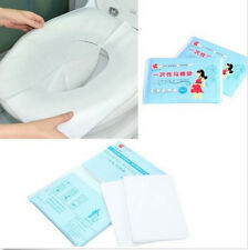 FD2659 Disposable Paper Toilet Seat Covers Camping Travel Sanitary 1 Pack/10pcs