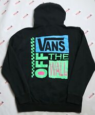 Vans Hoodie Adult XL Full Zip Off The Wall Black