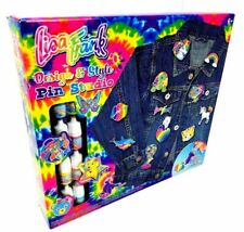 New Lisa Frank 18 Pin Set Enamel Paint Craft Kit Diy Design & Style Pin Studio