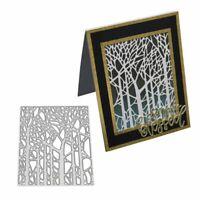 Forest Cutting Dies Metal Stencil DIY Scrapbooking Album Paper Card Embossing
