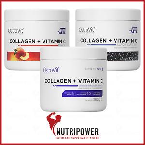 OstroVit Supreme Pure Collagen + Vitamin C 200 g Complex Joints Bones Support