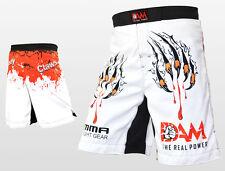 Dam Pro Mma Fight Mma Shorts Ufc Cage Fight Grappling Muay Thai Boxing Gear, New