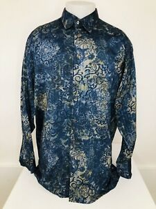 Awesome GEORG ROTH of GERMANY - PAISLEY Mens XXL Shirt - EXCELLENT