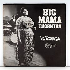 BIG MAMA THORNTON IN EUROPE VINTAGE ARHOOLIE F 1028 LP 1966 RELEASE EXCEPTIONAL!