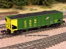 Hay Brothers COAL LOAD - Fits Athearn (and MDC/Roundhouse) 40' Hopper Cars