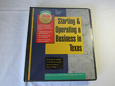 Starting and Operating a Business in Texas New Sealed Michael D. Jenkins