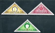 Lithuania - Beautiful 1991 Set of Mnh Triangle Stamps.N27.L7516-83