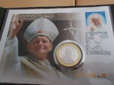 "VATIKAN: Numisbrief Heiligsprechung ""Papst Paul II"", Giovanni Paolo II 27.04.14"