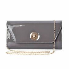 Gray Small Size Clutch Bag for Women Shoulder Strap Handbag Bag for Women
