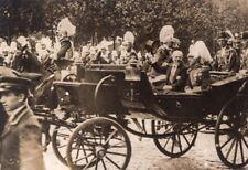 Poincaré Spain King Alfonso Pathe Journal Photo 1913