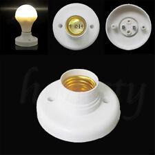 1pc E27 80mm Screw Cap Socket Light Bulb Holder Fitting Light Lamp Fixing Base