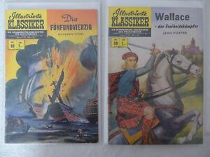 ILLUSTRIERTE KLASSIKER BSV Verlag Nummer 59 und 60 in 1.Auflage