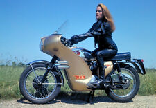 CUSTOM THUNDERBALL BSA VINTAGE MOTORCYCLE POSTER PRINT 25x36 HI RES