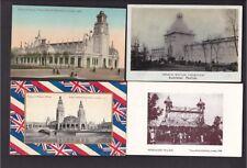 Exhibitions FRANCO-BRITISH EXHIBITION 1908 x13 PPCs