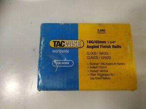 Tacwise 16 angled gauge finishing nails 45mm