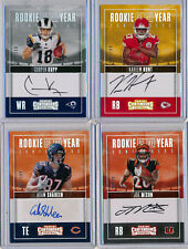 2017 Contenders ROY Lot 4pc - K. HUNT, C. KUPP & A. SHAHEEN /199 & J. MIXON /99