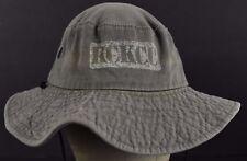 Beige Kansas City Kansas Community College Logo KCKCC Bucket hat cap Fitted