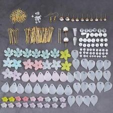 DIY Earrings Making Accessories petal Ear hook Pendant Jewelry Making Kits