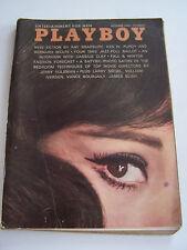 MAGAZINE PLAYBOY US N° 10 DE 1964 . INTERVIEW CASSUIS CLAY . BON ETAT