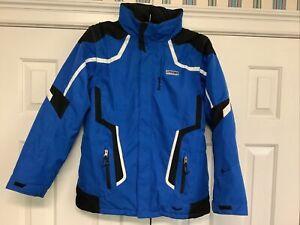 Royal Blue Spyder Ski Jacket Youth 20 Model 5056-10 NWOT