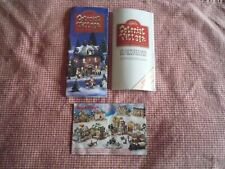 Lefton Colonial Christmas Village - 15 Page Booklet And Introduction Brochures
