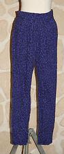 pantalon noir et violet taille 12 ans neuf marque Emoi (b)