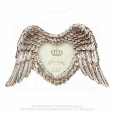 ALCHEMY ENGLAND Gothic Steampunk Wall/Table Picture PHOTO FRAME SA4 Winged Heart