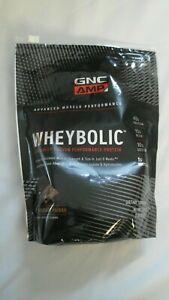 GNC AMP Wheybolic Performance Protein Powder Classic Chocolate 1.38 lbs OPENED @