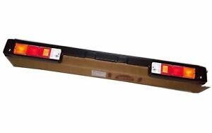 Rear Bumper Bar + Lights Suzuki Samurai SJ413 SJ410 Sierra Jimny Gypsy