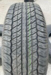 Set of Four New Takeoff Grandtrek Dunlop AT20 265 70 17 6 Ply Tires (265/70R17)